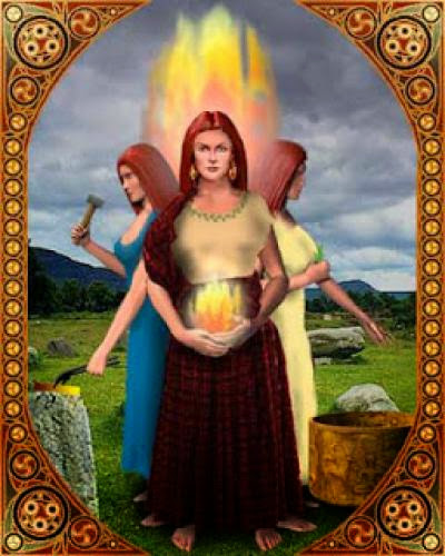 Brigit Celtic Goddess Of Fire