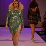 OIC - ENTSIMAGES.COM - Hayley HassleHof at the UK Plus Size Fashion Week - DAY 2 - Catwalk Show Day  London 12th September 2015  Photo Mobis Photos/OIC 0203 174 1069