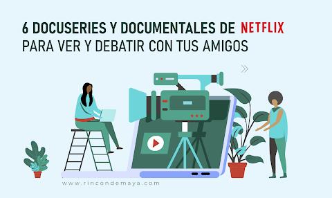 ¡6 Documentales De Netflix Para Ver En Casa!