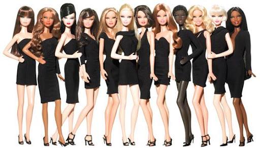 Barbie Basics LBD: prototipos de las muñecas de cuerpo entero