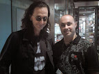 Geddy Lee, legendary bass, vox & keys for Canadian power-trio RUSH! Of all places, I met him at a food expo :)