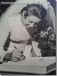Casamento jo - assinando livro