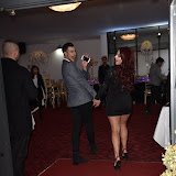 OIC - ENTSIMAGES.COM - Junaid Ahmed and Jessica Hayes  at the  Britz go Bollywood - Ark Royal Banquet Hall  in London 29th February 2016 Photo Mobis Photos/OIC 0203 174 1069
