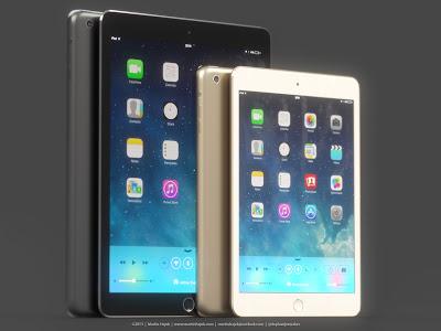 iPad mini2 Gold Image Martin Hajek