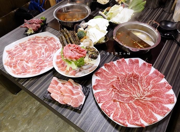 34 丰明殿 信義殿 超大肉盤 涮涮鍋 痛風海鮮盤