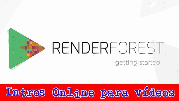 renderforest intro online para videos