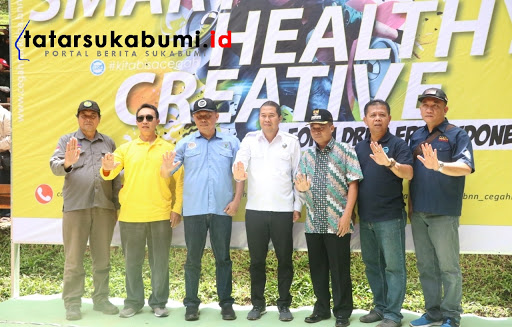 P4GN BNNK Sukabumi : Generasi Milenial Indonesia Cerdas, Sehat, Kreatif dan Bersih Narkoba