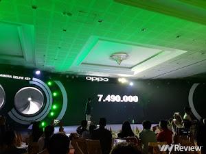 Oppo F3 chính thức ra mắt: vẫn có camera kép, giá 7,49