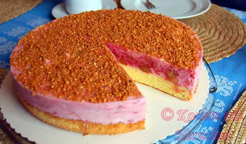 Omas Rhabarber-Torte