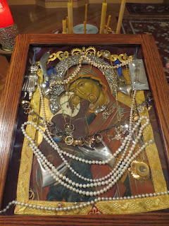 Icon of St. Anne Visited September 14-15