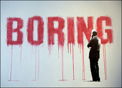 Why Are You Boring?