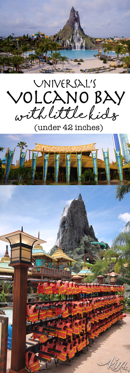 What to do at Universal's Volcano bay water park if you have little kids (toddlers or preschoolers) who aren't tall enough for the 42 inch height requirement.  Great info on the attractions and rides they CAN ride and the secrets behind the park to be on the lookout for.