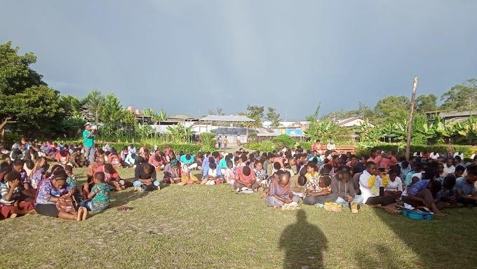 Pengurus Pemuda Segitiga Kingmi, Baptis Dan Gidi Se Pegunungan Tengah Papua Dikukuhkan