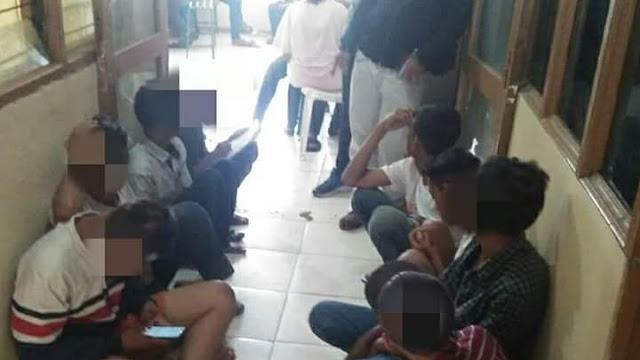 Langgar Instruksi Walikota, Puluhan Remaja Diamankan Satpol PP Padang, Orang Tua Terancam Diproses Hukum.