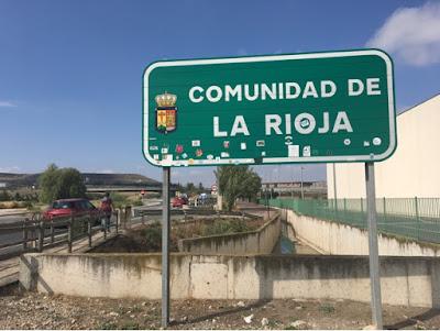 Santjago ceļš. 5. diena. La Rioja.