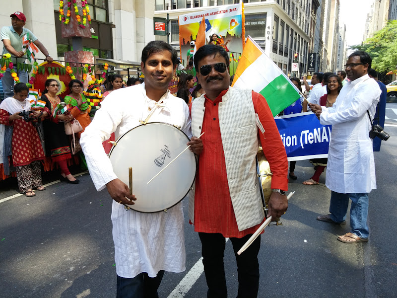 Telangana State Float at India Day Parade NY 2015 - 20150816_125825.jpg