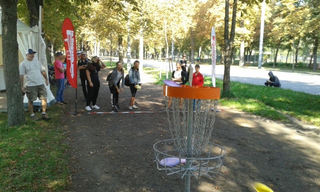 Tag des Sports 2016 - Disc Golf