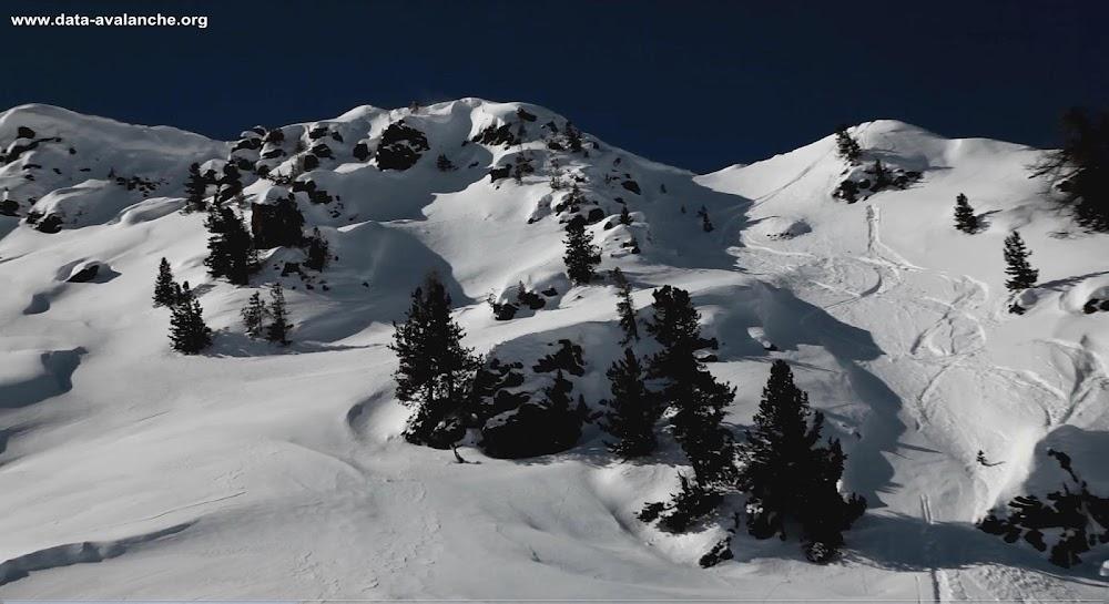 Avalanche Briançonnais, secteur Montgenèvre, Secteur Aigle - Photo 1