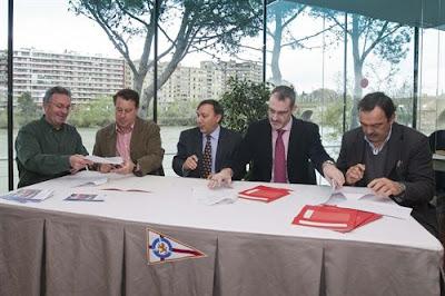 Club n utico zaragoza el club n utico firma un convenio con el ayuntamiento - Club nautico zaragoza ...