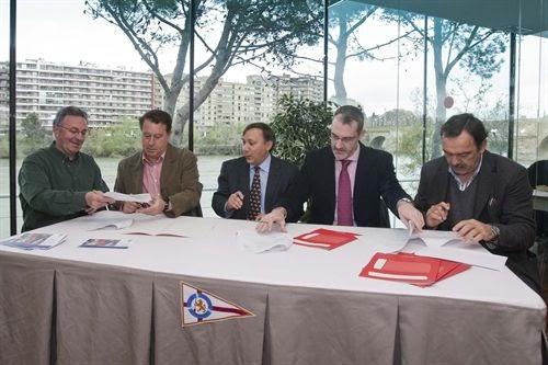 Club n utico zaragoza el club n utico firma un convenio - Club nautico zaragoza ...