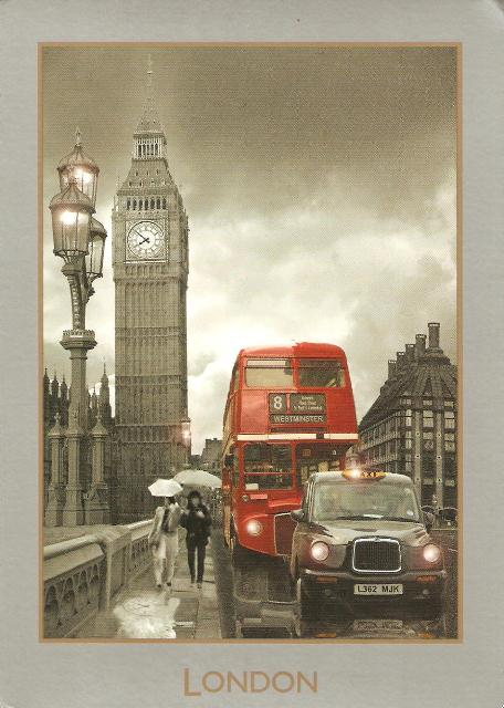Днем, лондон в старых открытках
