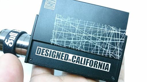 DSC 7076 thumb%255B2%255D - 【MOD】「USV-L 75w Box Mod」レビュー。VO75チップ by Vo Tech 搭載MOD初購入!!アルミボディで軽量、液晶ステルス&スライドボックスがアメリカンCOOL!!【オフィスエッジ】