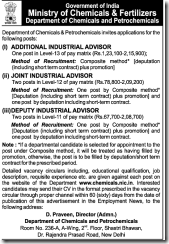 Ministry-of-Chemicals-and-Fertilizers-Notice-2017-www.indgovtjobs.in