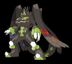Legendary Pokémon Zygarde Full Form