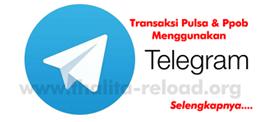 isi pulsa via telegram