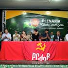 Prefeito Carlin Moura participou da plenária do PCdoB Contagem
