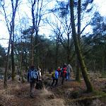 020-Nieuwjaarswandeling met de Bevers.Menno gidst ons door het mooie natuurgebied De Regte Heide te Go+»rle