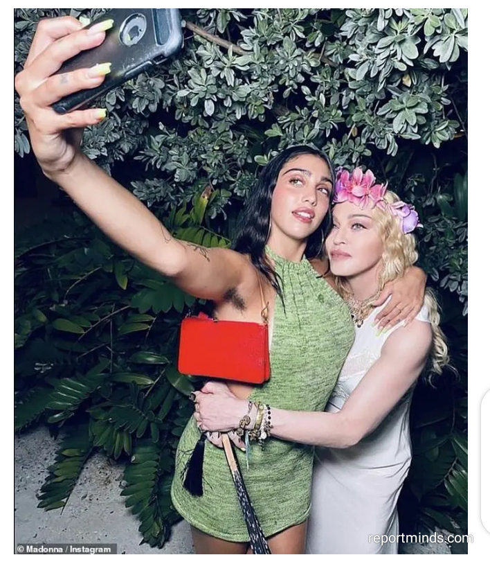 Madonna's daughter Lourdes, shares spitting image of her mother as they pose for selfie