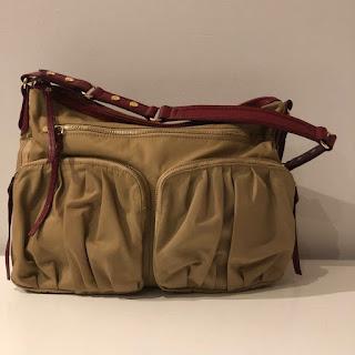 MZ Wallace Tan Shoulder Bag