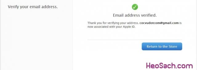 Hình 9 - Hướng dẫn lập tài khoản Apple ID, iCloud, Appstore qua iTunes