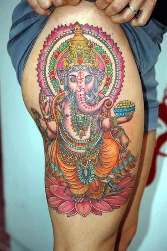 ganesha_coxa_tatuagem