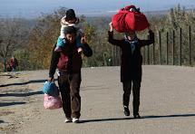 Život uprchlíků na balkánské trase