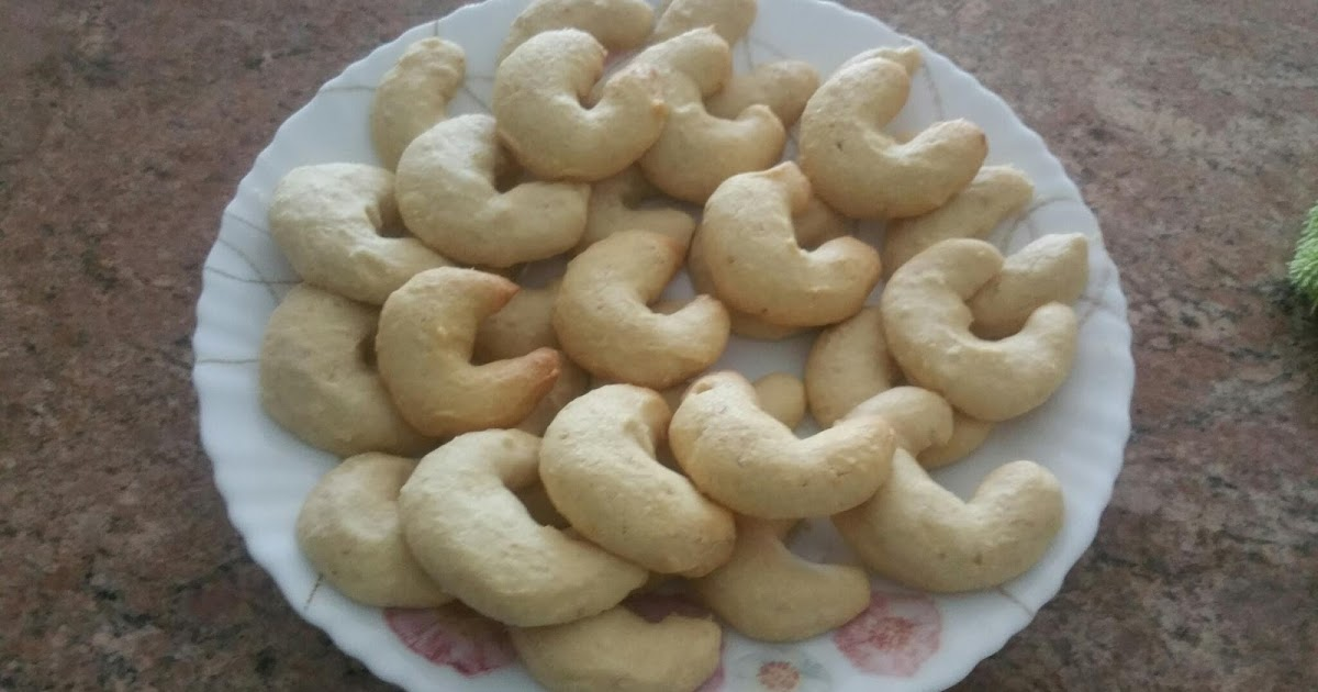 Cashew nuts butter cookie by Shehnaz