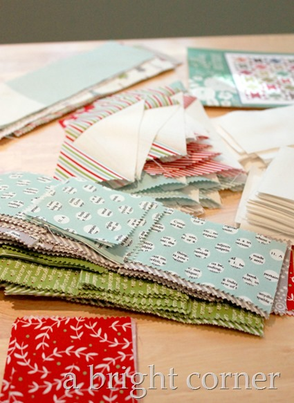 Chatterbox Christmas quilt