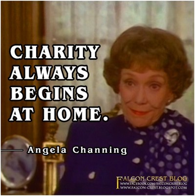 #197_Angela_Charity always begins at home_Falcon Crest
