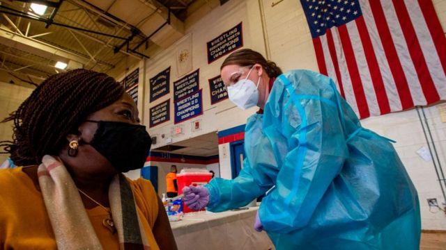 Se pone lento proceso de  vacunación en EEUU