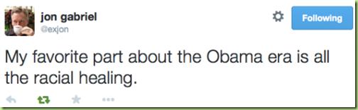 racial healing tweet