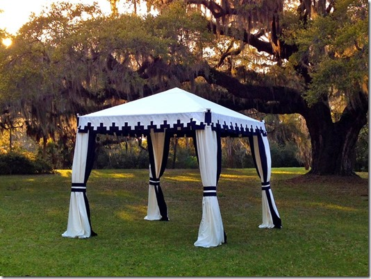 Custom Cabana by Boutique Tents | Designed for Todd Events