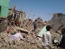 Povodně v Afghánistánu zasáhly i vesnici Khodajokoh. (Foto: Archiv ČvT)