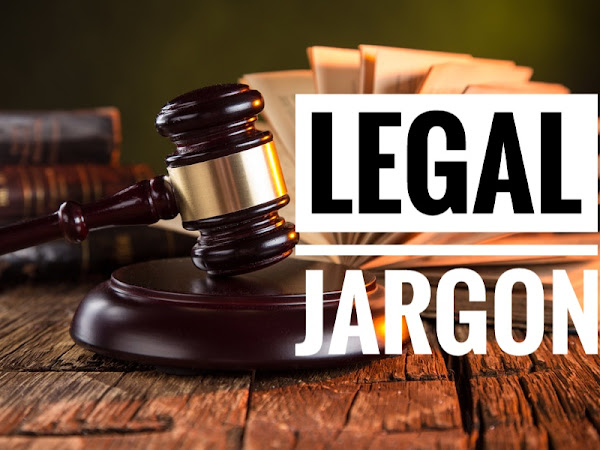 10 LEGAL JARGONS FOR LAYMAN