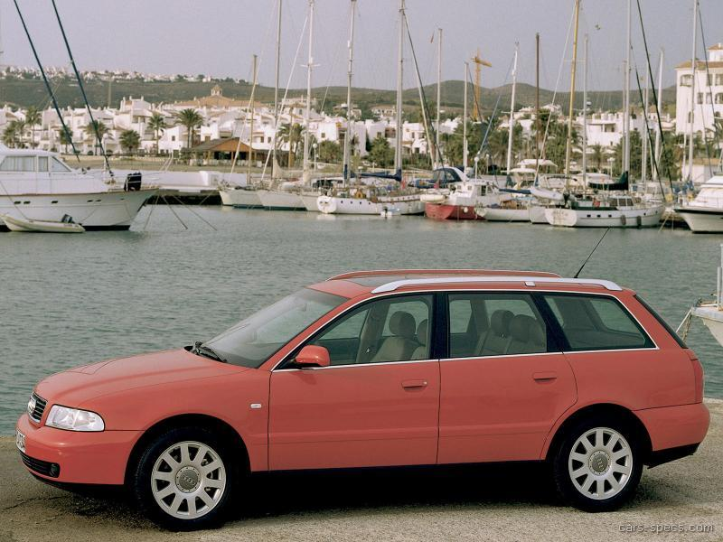 1998 Audi A4 Wagon Specifications Pictures Prices