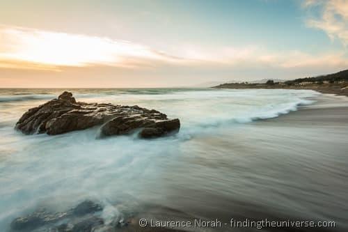 Sunset on the Cambrian coast California 5