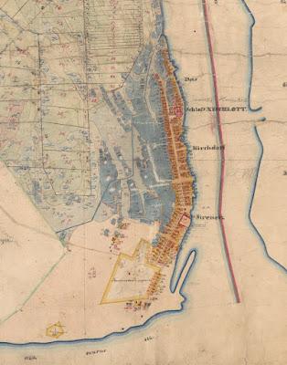 План Сыренца 1866 г.