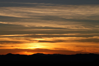 Photo: Another hastily photographed sunset in the desert