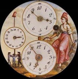 reloj revolución francesa