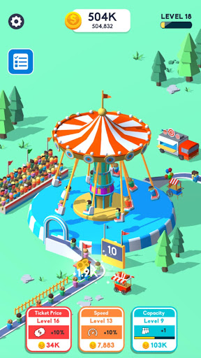 Idle Swing Ride mod apk 0.1 screenshots 2